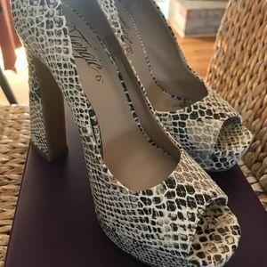 Fergie footwear heels